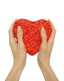 εκμετάλλευση καρδιών χ&epsi Στοκ φωτογραφία με δικαίωμα ελεύθερης χρήσης