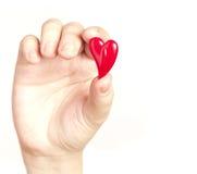 εκμετάλλευση καρδιών Στοκ Εικόνα
