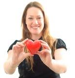 εκμετάλλευση καρδιών Στοκ Φωτογραφίες