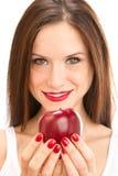 εκμετάλλευση μήλων στοκ φωτογραφία
