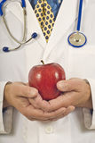 Εκμετάλλευση Apple γιατρών αναθεωρημένη Στοκ εικόνες με δικαίωμα ελεύθερης χρήσης
