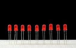LEDs Στοκ εικόνες με δικαίωμα ελεύθερης χρήσης