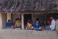 εκπαίδευση Ινδία αγροτ&iota Στοκ Φωτογραφία