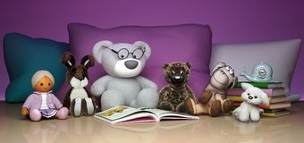 Εκπαίδευση παιδιών και ευτυχής παιδική ηλικία ανάπτυξης Παιχνίδια α μωρών Στοκ εικόνες με δικαίωμα ελεύθερης χρήσης