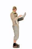 εκπαίδευση geek nerd Στοκ Εικόνες