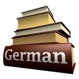 εκπαίδευση γερμανικά βι& Στοκ Εικόνες