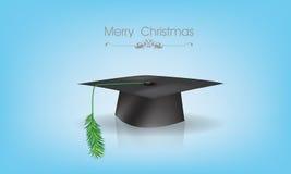 Εκπαίδευση ΚΑΠ με το νέο θέμα Χριστουγέννων έτους Στοκ εικόνες με δικαίωμα ελεύθερης χρήσης