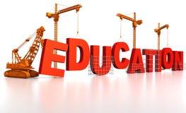 εκπαίδευση οικοδόμηση&sig Στοκ φωτογραφίες με δικαίωμα ελεύθερης χρήσης