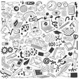 Εκπαίδευση doodles Στοκ φωτογραφία με δικαίωμα ελεύθερης χρήσης
