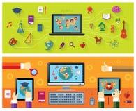 εκπαίδευση on-line Στοκ φωτογραφίες με δικαίωμα ελεύθερης χρήσης