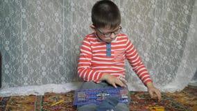 Εκπαιδευτικά εσωτερικά παιχνίδια απόθεμα βίντεο