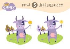Εκπαιδευτικό παιχνίδι παιδιών διανυσματική απεικόνιση
