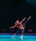 Εκπαιδευτικά μαθήματα de deux-Physique χορευτικού βήματος Στοκ Φωτογραφία