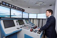 Εκπαιδευτικό κέντρο ναυσιπλοΐας πάγου στοκ εικόνα