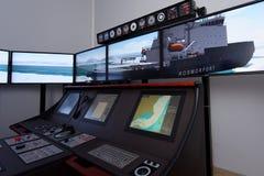 Εκπαιδευτικό κέντρο ναυσιπλοΐας πάγου Στοκ Εικόνες