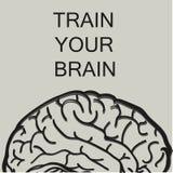 Εκπαιδεύστε τον εγκέφαλό σας ελεύθερη απεικόνιση δικαιώματος