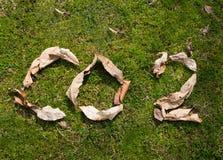 Εκπομπή του CO2 Στοκ Εικόνα