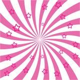 Εκρήξεις και αστέρια του Ray Στοκ εικόνες με δικαίωμα ελεύθερης χρήσης