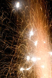 Εκρήξεις τη νύχτα Στοκ Φωτογραφία