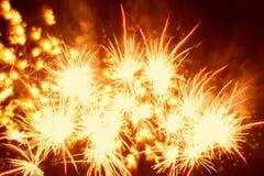 εκρηκτικά πυροτεχνήματα Στοκ Φωτογραφίες