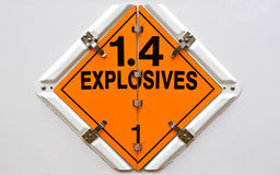 εκρηκτικές ύλες Στοκ Εικόνες