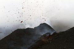 Εκρηκτική δραστηριότητα Στοκ Εικόνα