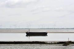 Εκροή της θάλασσας Στοκ φωτογραφίες με δικαίωμα ελεύθερης χρήσης