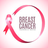 Εκστρατεία καρκίνου του μαστού Στοκ φωτογραφία με δικαίωμα ελεύθερης χρήσης