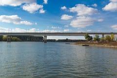 Εκτάσεις ποταμών του Αστραχάν Στοκ φωτογραφία με δικαίωμα ελεύθερης χρήσης