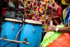 εκτελέστε την ταϊλανδική μουσική κατά τη διάρκεια της βουδιστικής χειροτονίας στοκ φωτογραφίες