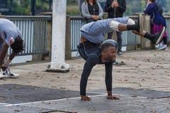 Εκτελεστής οδών παραμόρφωσης στο Πόρτλαντ, Όρεγκον Στοκ Φωτογραφίες