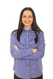 εκτελεστικές ευτυχείς νεολαίες γυναικών Στοκ εικόνα με δικαίωμα ελεύθερης χρήσης