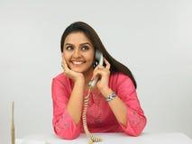 εκτελεστική θηλυκή ινδική προέλευση Στοκ Φωτογραφία