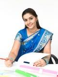 εκτελεστική θηλυκή ινδ& Στοκ Εικόνα