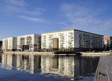 εκτελεστικός σύγχρονος διαμερισμάτων Στοκ Εικόνες