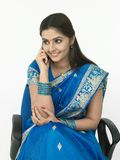 εκτελεστικό θηλυκό τηλ στοκ εικόνα με δικαίωμα ελεύθερης χρήσης