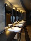 εκτελεστικό washroom στοκ εικόνα