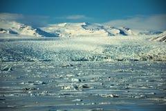 Εκτενές τοπίο παγετώνων στοκ φωτογραφία με δικαίωμα ελεύθερης χρήσης