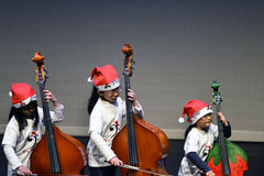 Εκτελέστε το violoncello στοκ εικόνες