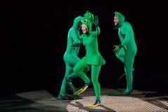 Εκτελεστές τσίρκων Στοκ εικόνες με δικαίωμα ελεύθερης χρήσης