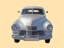 Εκτελεστικό αυτοκίνητο της έκδοσης ΙΙ Pobeda της δεκαετίας του '50 fastback gaz-M20 μέτωπο Στοκ εικόνες με δικαίωμα ελεύθερης χρήσης