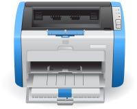 Εκτυπωτής λέιζερ στο διανυσματικό HP Laser$l*jet 1022 ελεύθερη απεικόνιση δικαιώματος