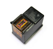 εκτυπωτής κασετών στοκ εικόνες
