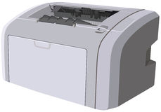 εκτυπωτής λέιζερ συσκευών Στοκ φωτογραφία με δικαίωμα ελεύθερης χρήσης