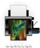 εκτυπωτής προαιρετικής δυνατότητας Laser$l*jet εικονιδίων διανυσματική απεικόνιση