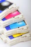 εκτυπωτής Inkjet χρώματος κασ& Στοκ φωτογραφίες με δικαίωμα ελεύθερης χρήσης