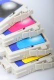 εκτυπωτής Inkjet χρώματος κασ& Στοκ Εικόνες