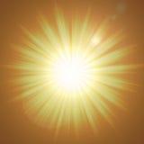 εκτυφλωτικό φως Στοκ Εικόνες