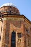 Εκτός από τη βασιλική της ιερής αποκατάστασης από μέσω Cesatotti στην Πάδοβα στο Βένετο (Ιταλία) Στοκ εικόνα με δικαίωμα ελεύθερης χρήσης