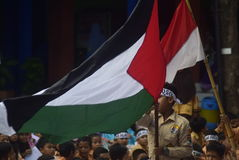 Εκτός από το aqsa της Παλαιστίνης και Al Στοκ Φωτογραφία